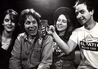 Glass Eye circa 1987: (l-r) Kathy McCarty, Dave Cameron, Sheri Lane, and Brian Beattie