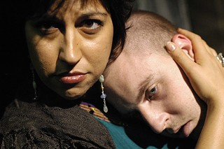 Stacey Glazer and Travis Tinnin in<i> The Last Days of Judas Iscariot</i>