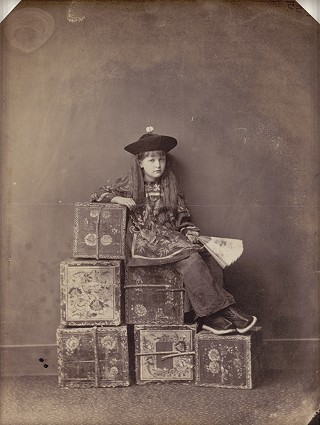 Lewis Carroll, <i>Xie Kitchin in Chinese Dress</i>, 1873