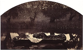 Henry Peach Robinson, <i>The Lady of Shalott</i>, 1861