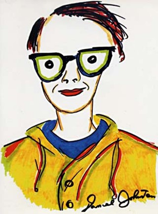 Daniel Johnston's interpretation of Kathy McCarty from her <i>Dead Dog's Eyeball</i> CD.