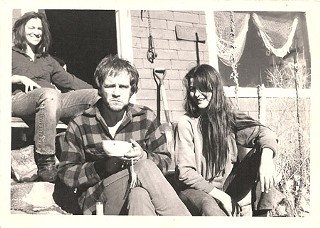 Tim Hardin in Colorado with Dalton and Susie Bergman