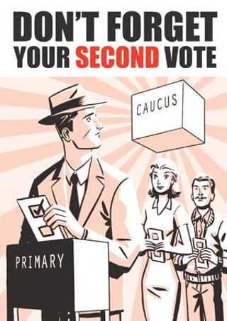 Make Your Vote Count – Twice!