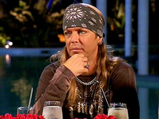 Hair rock of love: Bret consults his bandana