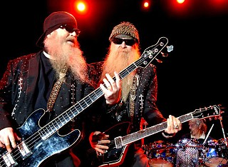 ZZ Top, shown here at the Backyard last year, help round out the venue's last season May 15.