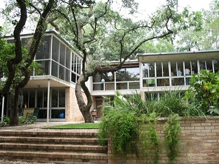The Granger House, built in 1952 as the architect's personal residence