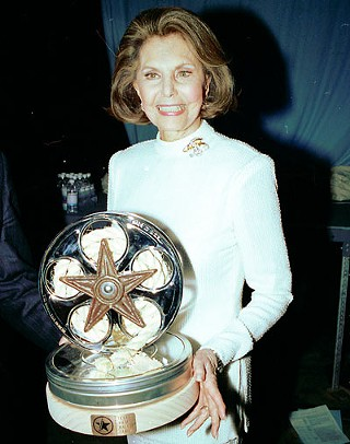 Cyd Charisse at the 2002 Texas Film Hall of Fame Awards