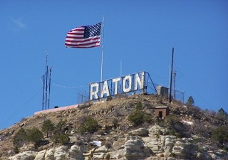 Raton, NM, just south of the Colorado border.