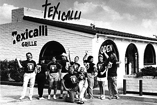 Danny and LuLu (center) with Texicalli crew