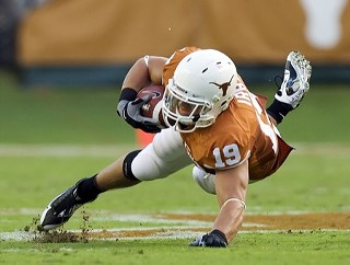 UT tight end Blaine Irby