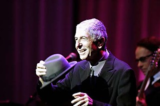 Leonard Cohen doffs his hat in and to Montreal, 2008