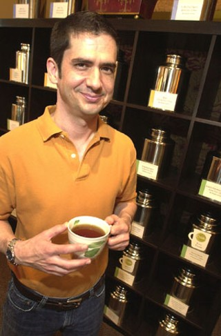Owner Tony Ingargiola at Chado Tea Market