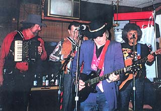 The Texas Tornados at the Hole in the Wall