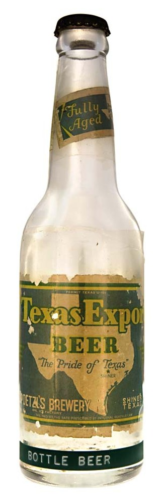 Texas Export, Spoetzl Brewery's early forerunner 