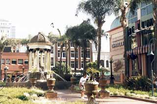 Horton Plaza's namesake park was once a thriving drug market and wino hangout.