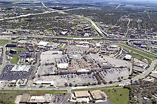 Aerial view of Highland Mall