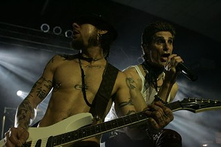 Girls Can Tell: Jane's Addiction rocked the rabbit early Friday morning at <i>Playboy Magazine</i>'s annual SXSW afterparty on the Eastside, opening with a 10-minute laceration of Three Days led by Dave Navarro's guitar pyrotechnics &ndash; proof that old habits die hard.