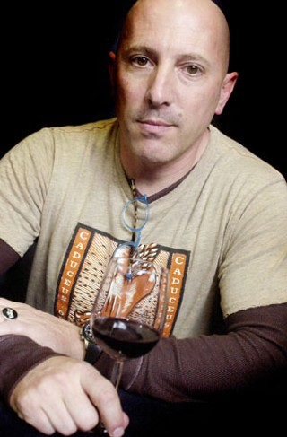 Maynard James Keenan drinks in Austin