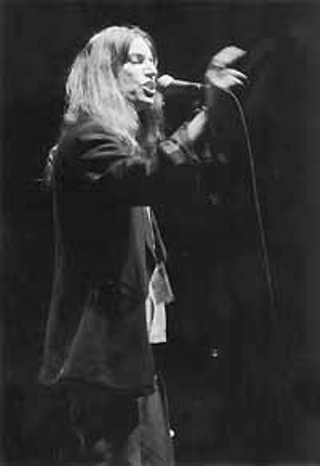 Patti Smith on the Outdoor Stage at Waterloo Park, SXSW 2000