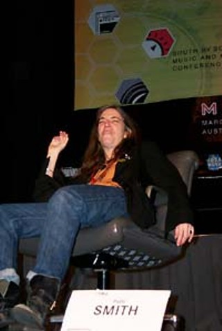 Patti Smith during her Interview session at SXSW 2000