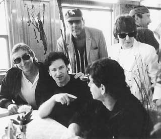 VU and U2 on Lake Geneva, 1993<br>Reprinted with permission of BloomsburyUSA, Inc.