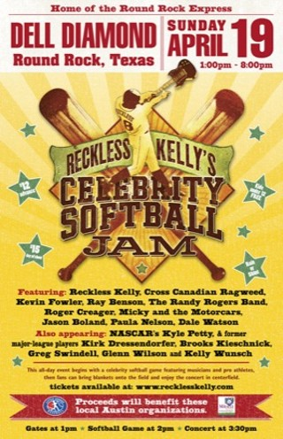 Reckless Kelly's Celebrity Softball Jam - m.facebook.com