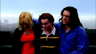 Tommy Wiseau (right), director and star of 2003 flop <i>The Room</i>, will appear at the Alamo Ritz on May 6.