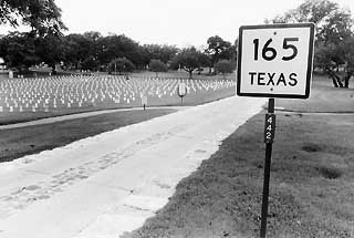 Bullock had the road that runs through the Texas State 