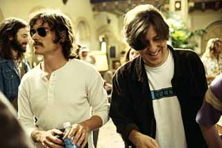 Billy Crudup (l.) and Cameron Crowe