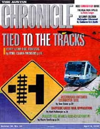 April 4, 1997: Five years later, Capital Metro finally took the vote it dodged in 1992. We published this huge slab of copy about the money, the technology, the neighborhoods. What really mattered was the politics. The legislative destruction of Capital Metro was an attempt to stop light rail.