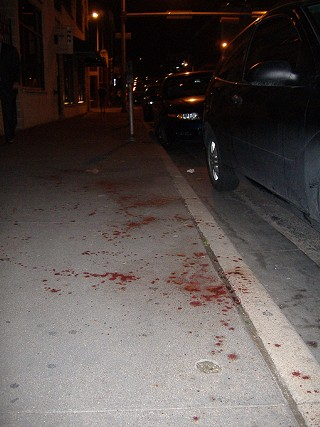 Blood on the streets, blood on the rocks, blood in the gutter, every last drop – AC/DC, If You Want Blood (You've Got It)