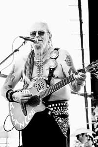 David Allan Coe at Willie's Picnic, 2000