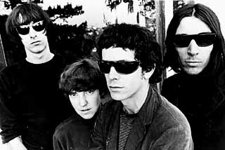 The Velvet Underground (l-r): Sterling Morrison,  Mo Tucker, Lou Reed, and John Cale
