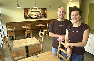 Rodolfo and Jessica Buonocore, owners of Ate.Cafe
