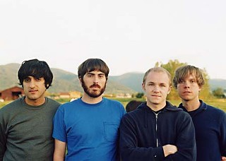 Back in the day: Explosions in the Sky's first promo photo, circa 1999