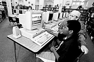 Under Cavazos, Fulmore Middle School more than doubled the number of computers for students.