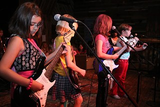 Girl in a Coma at Girls Rock Camp