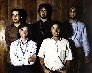 Tribes Ascending, Elevators 2: (l-r) Danny Galindo, Tommy Hall, Stacy Sutherland, Roky Erickson, Danny Thomas, circa 1967