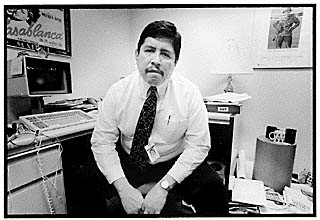 Arnold Garcia, Jr., editorial page editor of the <i>Austin American-Statesman</i>