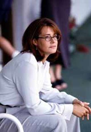 Lorraine Bracco is nominated for her performance in HBO's <i>The Sopranos</i>.