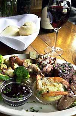 Mixed Grill at the Huisache Grill & Wine Bar