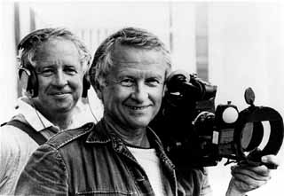 Albert Maysles (r) with brother David