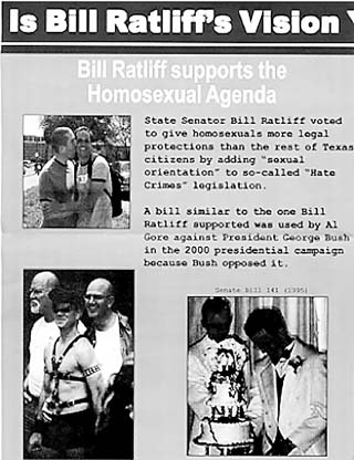 FreePAC's mailer attacking Bill Ratliff