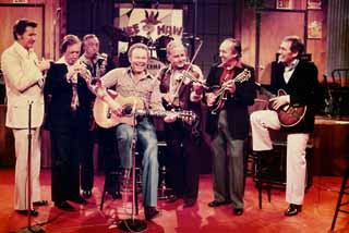 Gimble with Hee Haw's Million Dollar Band