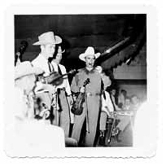 Gimble with Bob Wills, sometime between 1949-53