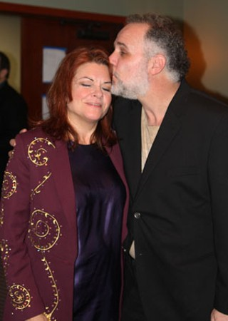 Real love: Jody Denberg  and Rosanne Cash