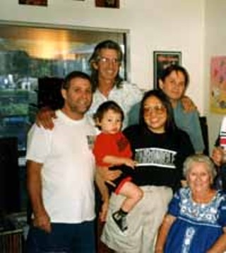 No Place to Fall (l-r): Harold Eggers, TVZ, Harold 3, cindy soo, Kevin Eggers, Betty Eggers, 1996.