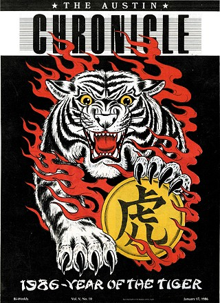 Our 1986 Year of the Tiger cover by Rollo Banks