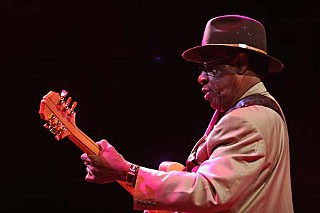 Blues Boy Hubbard, another AMA Hall of Famer, was handpicked by Black Joe Lewis for this year's closing jam