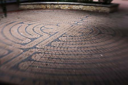 Best Downtown Place To Feel the Spirit: The Labyrinth Walk